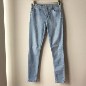 Topshop Moto Leigh Light Wash Jeans